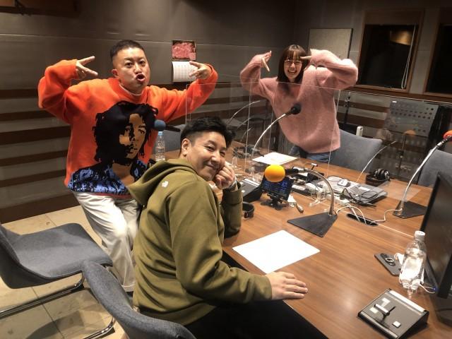 チョコレートプラネットのお二人と佐藤栞里さんの話を盗み聞き・・・家族のような三人の仲良しトーク!
