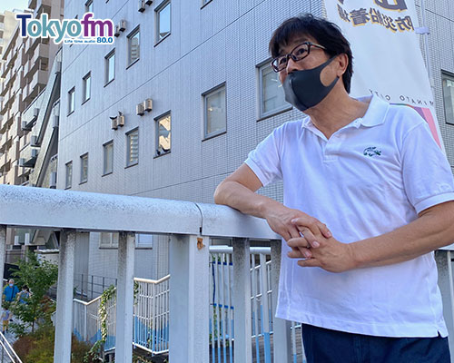松任谷正隆さんと一緒に数多くの名作を生み出した芝浦アルファスタジオの跡地を歩きます