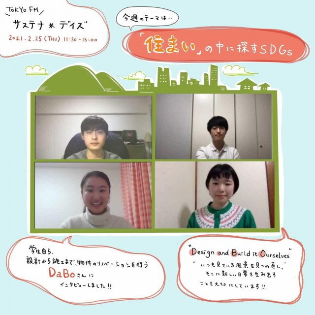 イノベーションチームdotのリポート〜建築を学ぶ大学生によるリノベチーム「DABO」